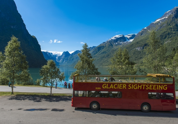 Olden Adventure Open Top Glacier Sightseeing